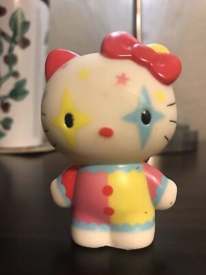 Sanrio Hello Kitty Clown Collectible Key Ring Vinyl Figure Blind Box Urban Rare!