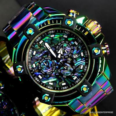 Invicta Reserve Grand Octane Arsenal Swiss 63mm Iridescent Abalone Watch New