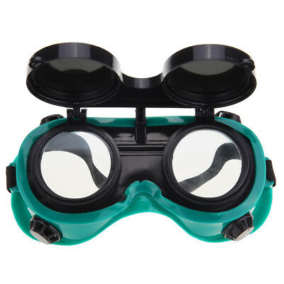 Welding Goggles With Flip Up Glasses for Cutting Grinding Oxy Acetilene torch