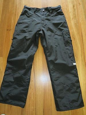 """Black """"out Of Bounds All Terrain """" Snowboard Pants Unisex Xxl Mens Ladies"""