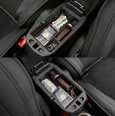 Armrest Storage Box For Fiat 500X Center Console Stowing Case Glove Tray Holder