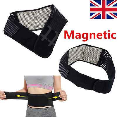Magnetic Back Lumbar Support Magnets Pain Relief Brace Belt Strap Protection