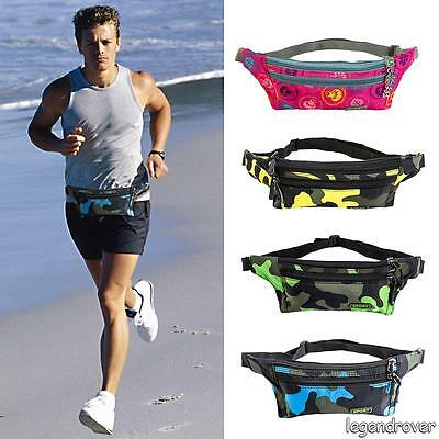 Sport Running Bum Bag Unisex Fanny Pack Travel Handy Waist Bags Waist Belt Pouch