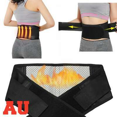 Magnetic Heat Lumbar&Lower Back Support Belt Brace Strap, Posture Waist Trimmer