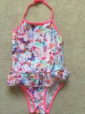 accessorize Angels Swimsuit Age 7-8 Worn For One Hour Only!! Perfect Condition
