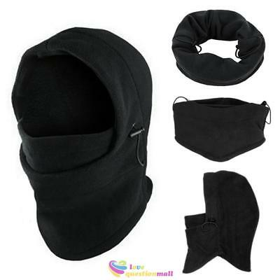 Motorcycle Bike Cycling Thermal Fleece Windproof Balaclava Neck Face Mask Helmet