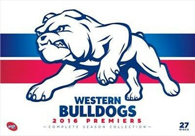 AFL - Premiers 2016 Western Bulldogs Complete Season Collection