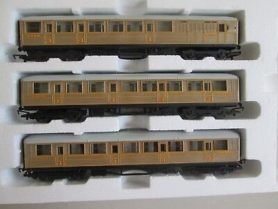 HO OO Hornby LNER carriage coach x3 suit The Flying Scotsman Perfect Condition!