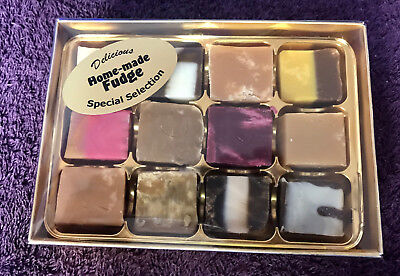 Assorted Special Selection Home Made Fudge, Gift Box, 200gr