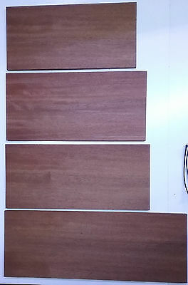 4  Salvaged Rosewood Boards Woodworking Timber Combined Shipping