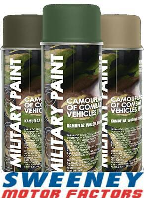 DECO COLOR MILITARY SPRAY PAINT CAMOUFLAGE ARMY PAINTBALL AIRSOFT ASG 400ml