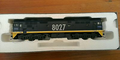 Austrains 80 class diesel loco. Freightrail blue # 8027. Used. Boxed. Australian