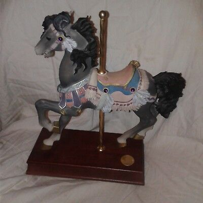 San Francisco Music Box Co Limited Edition Western Legends Carousel Horse