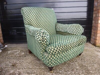 Vintage Edwardian style large deep comfy Arm Chair
