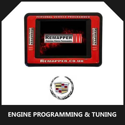 Cadillac - Customized OBD ECU Remapping, Engine Remap & Chip Tuning Tool