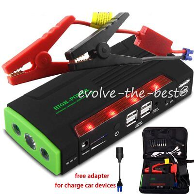 68800mAh Car Jump Starter Jumper Battery Charger Mobile Power Bank Pack Booster