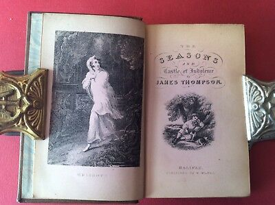 Miniature Book. The Seasons, Britannia, And The Castle Of Indolence.  By James