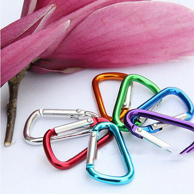 10X Carabiner Water Bottle Buckle HookHolder Clip ForCamping Hiking Traveling 5H