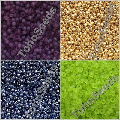 5g Toho Seed Beads size 15/0 Japanese Small Rocaille Glass Beads Mini 140 COLOR