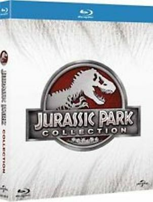 Jurassic Park Collection (4 Blu-Ray ) NUOVO