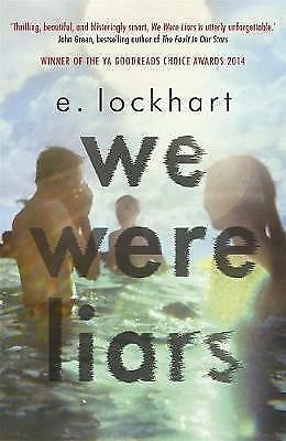 We Were Liars by E. Lockhart BRAND NEW BOOK (Paperback, 2014)