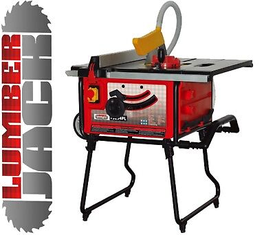 """Professional 10"""" 254mm 1800W Portable Table Saw with Sliding Extension 240v"""
