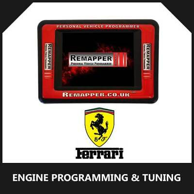 Ferrari - Customized OBD ECU Remapping, Engine Remap & Chip Tuning Tool