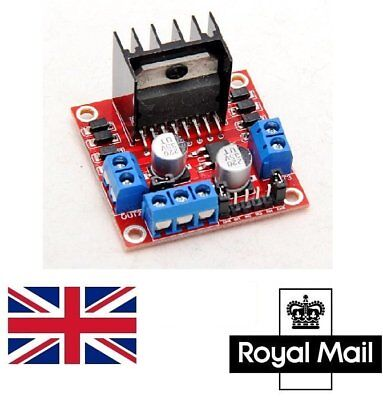 UK L298N Dual H Bridge Stepper Motor Driver Controller Board Module Raspberry Pi