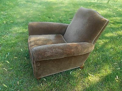 Awesome Arhaus Leopard Print Fabric Lounge Armchair