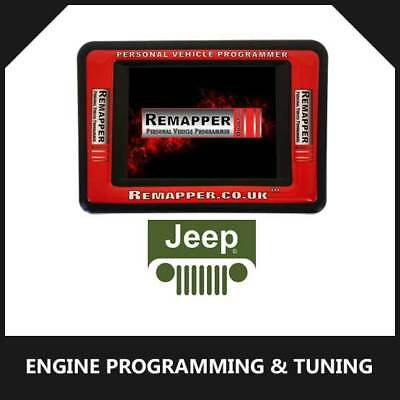 Jeep - Customized OBD ECU Remapping, Engine Remap & Chip Tuning Tool