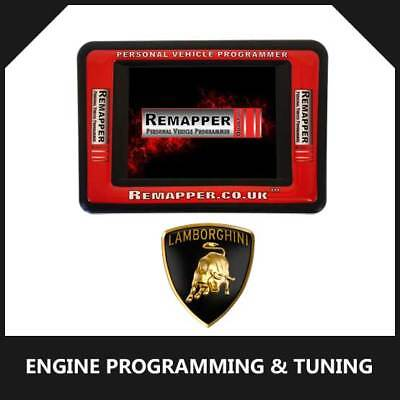 Lamborghini - Customized OBD ECU Remapping, Engine Remap & Chip Tuning Tool