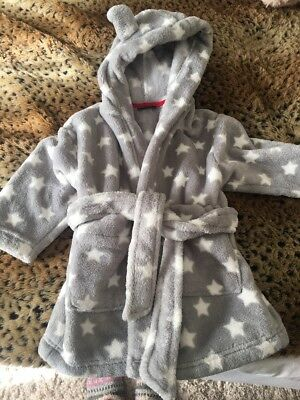 baby dressing gown 9-12 months Next Stars