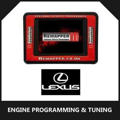 Lexus - Customized OBD ECU Remapping, Engine Remap & Chip Tuning Tool
