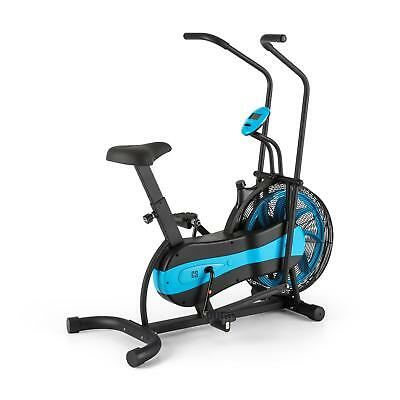 Dual Training Cardio Bike Fitness Machine Gym Home Arm Leg Cross Training Black