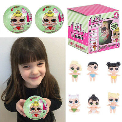 1/3/6pc LOL Surprise Doll Ball Mystery Lil Doll Series Surprise Blind Outrageous