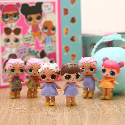 LOL Surprise Doll 1 -7 Layers Toy 1/3/6 pcs Ball Xmas Funny Mystery Magic L.O.L