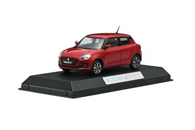 NEW Genuine Suzuki SWIFT 2017-> DIE-CAST Metal Model RED 1:43 99000-79N12-SWL