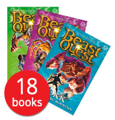 Beast Quest: Series 4-6 Collection - 18 Books