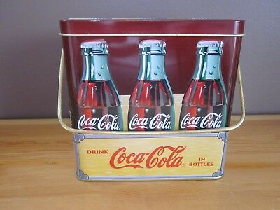 Coca Cola 'Handy to Carry Home' Six Pack Collectible Tin