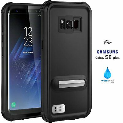 For Samsung Galaxy S8 Plus Waterproof  Case Cover Shockproof Snow Dirt Proof