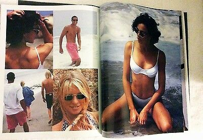 """Vintage Ray Ban Sunglasses by Bausch & Lomb 1994 First Edition """"Sun"""" Magazine"""