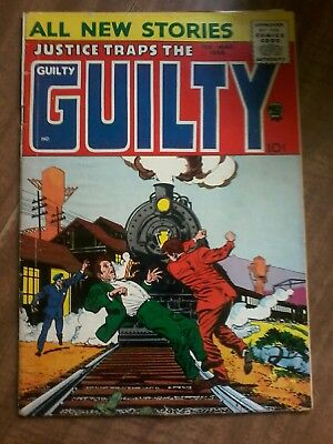 #1 Justice Trapes The Guily 1958