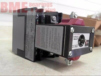 Cutler Hammer D23Mr402, 10 Amp, 300Vac Max With 120V 60Hz Coil