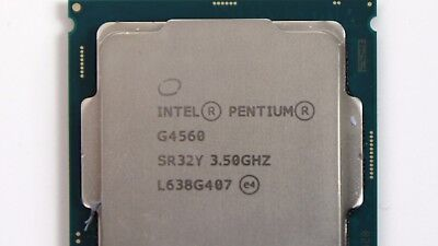 Intel Pentium G4560 Kaby Lake (3M Cache, 3.50 ghz) With Cpu Fan