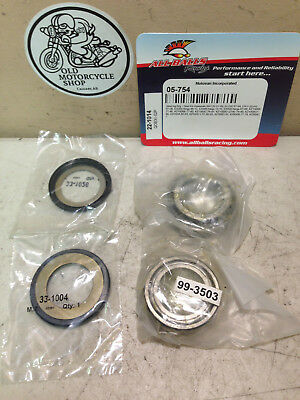 NOS 1973-17 Kawasaki (see model list) Steering Bearing & Seal Kit OEM 22-1014