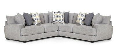 Franklin Furniture Barton 3 Piece Sectional 808 Sectional
