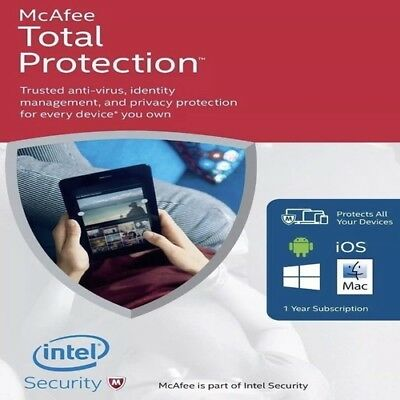 McAfee Total Protection | 1 Year | 1 Device