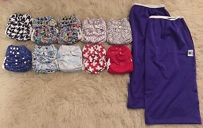 Nicki's Bamboo All-In-One Cloth Diapers