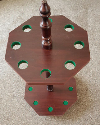 Corner Cue Stand Rack for Snooker or Pool Cues