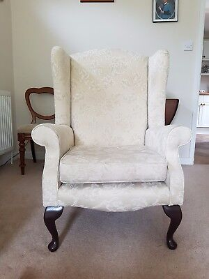 Hatfields Winged Armchair Cream